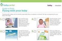 travel tips for flying with baby newborn