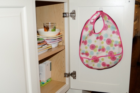 kitchen organization kids stuff bibs