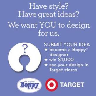 boppy design challenge target contest